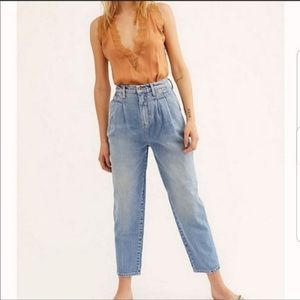 NWT FREE PEOPLE faded loved destroyed size 28